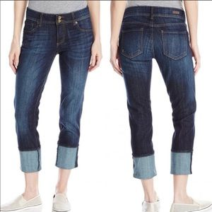 Kut from the Kloth Cameron wide cuffed jeans 2